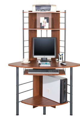 Contracted fan corner corner table. Triangle a desktop computer desk students