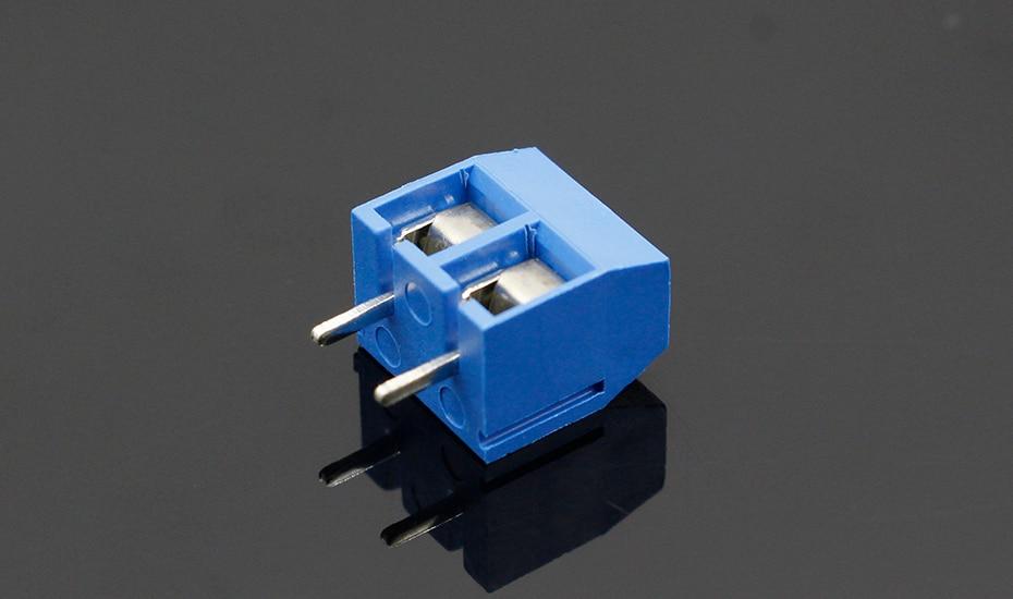 HTB1MxKMfwKTBuNkSne1q6yJoXXaz - 20PCS/LOT KF301-2P KF301-5.0-2P KF301 Screw 2Pin 5.0mm Straight Pin PCB Screw Terminal Block Connector Blue and green