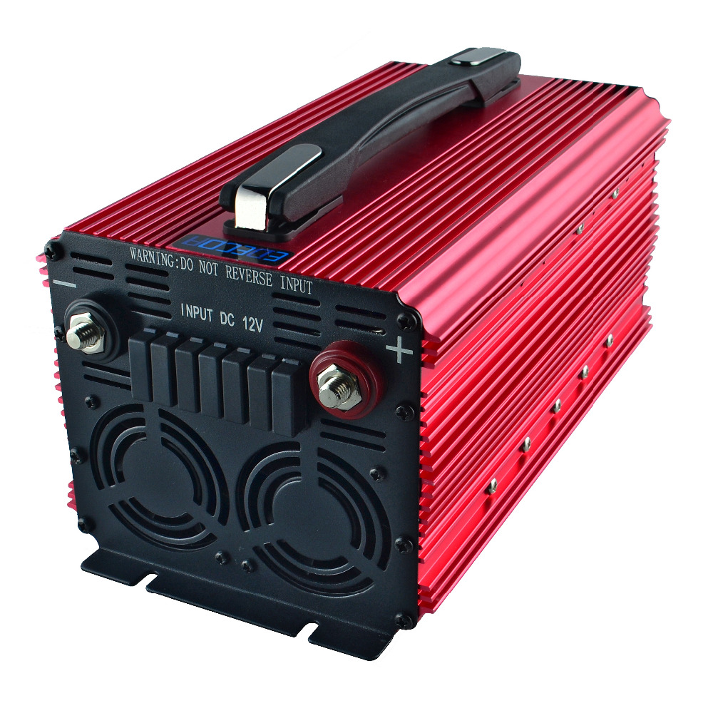 2000w LCD display inverter 12v 220v 230v 240v peak power 4000w off grid modified sine wave power inverter with remote controller