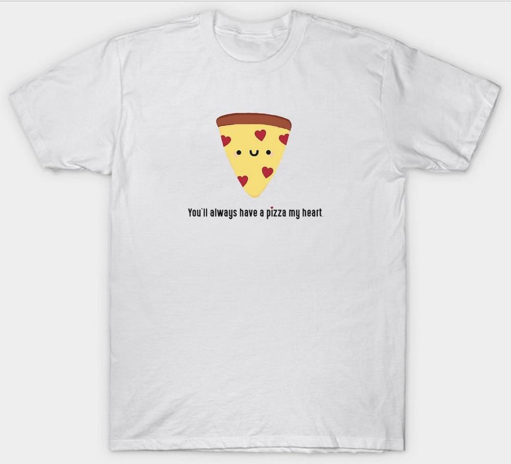 Shirt design gildan - Custom Shirt Design Gildan Short You Ll Always Have A Pizza My Heart Funny Slogan