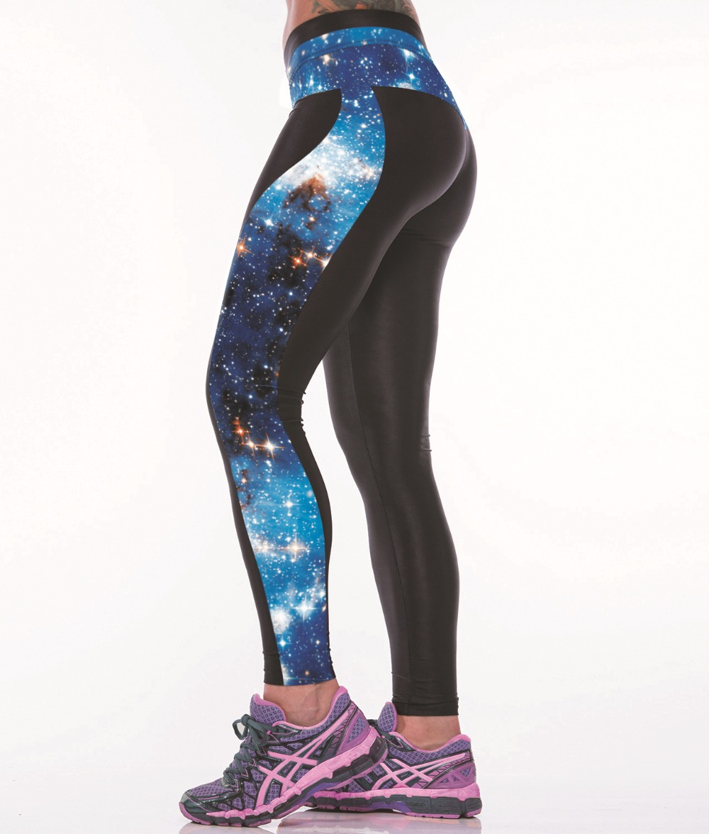 GALAXY PRINCESS STYLE 3D PRINT WOMEN LEGGINGS HIGH WAIST LEGGING PRINTED WOMEN PANTS SLIM FITNESS LEGGINS