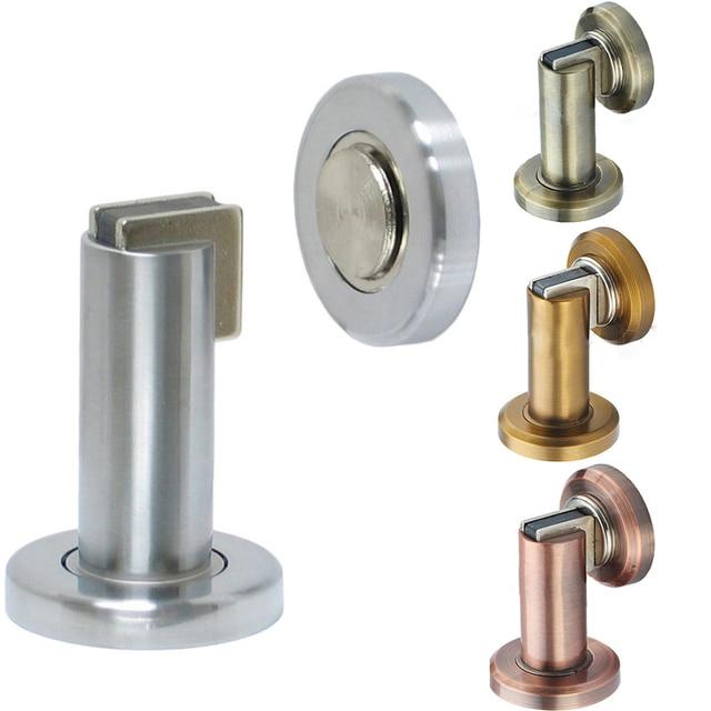 Antique Brass Magnetic Doorstop Prevent Magnetic Door Stopper Bumper Catch  Doorstop Magnet Door Stopper Floor Door