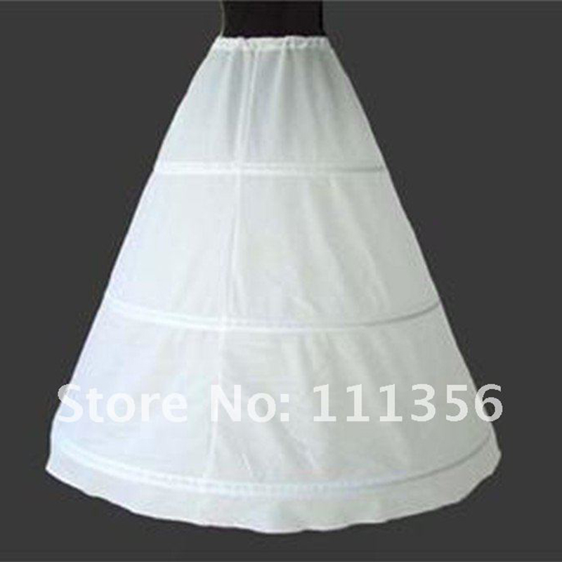 3689522116332 3 HOOP White Black Petticoat Wedding Gown Crinoline Bridal Skirt Slip-in  Petticoats from Weddings & Events on Aliexpress.com | Alibaba Group