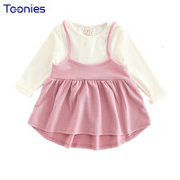 Patchwork Girls Dress Child Girl Vestidos Cute Princess Dresses New Design Suspender Children Dress Kids Clothes