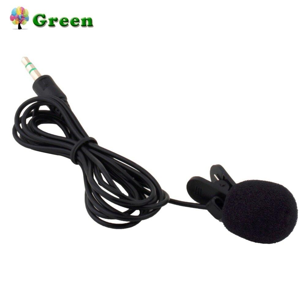 Portable Mini 3.5mm 30Hz -15000Hz Tie Lapel Lavalier Clip Microphone For Lectures Teaching Lessons Education