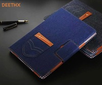 Jeans series Custodia In Pelle Protettiva Per Apple iPad Air 2 A1566 A1567, Air1, pro 9.7, 2017 Nuovo 9.7, DEETHX, Tablet Smart Cover