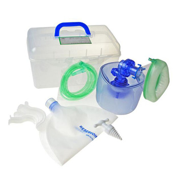 PVC material Adult Respirator Accessories Complete Home Pulmonary Heart Disease Ventilator Set First Aid Silicone Airbag