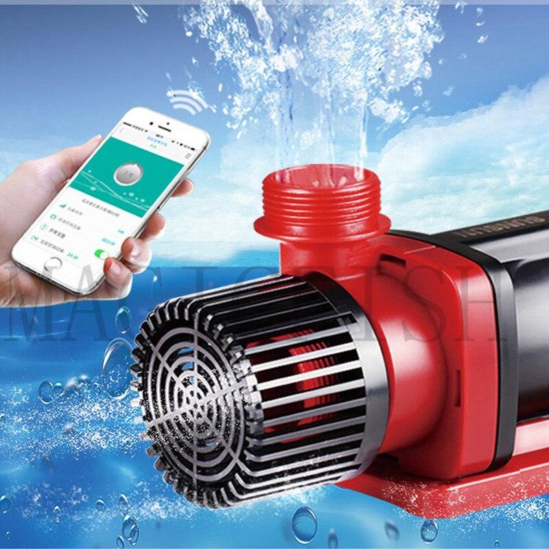 Pompe à eau SUNSUN JDP-3500 6000 10000 pompe d'étang d'aquarium, contrôleur WIFi DC pompe Submersible réservoir de poissons pompe à courant continu