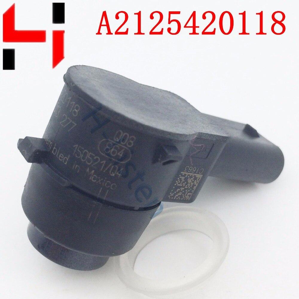 imágenes para (4 unids) Sensor de Aparcamiento PDC A2125420118 2125420118 Radar de Marcha Atrás Foros CLS Bces C250 C350 E300 E350 S350 S600