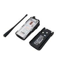 מכשיר הקשר Baofeng UV-82 מכשיר הקשר 5W Dual PTT 137-174 / 400-520MHz UV 82 שני Portable חובב Ham Way רדיו תחנת לציד Tracker (3)