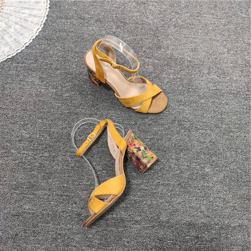 High Heel Sandal For Women Multicolored Sandals 1