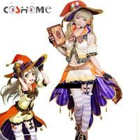 Coshome Love Live Minami Kotori Cosplay Costumes Lovelive School Idol Project ASCOSING Girls Christmas Dress Halloween