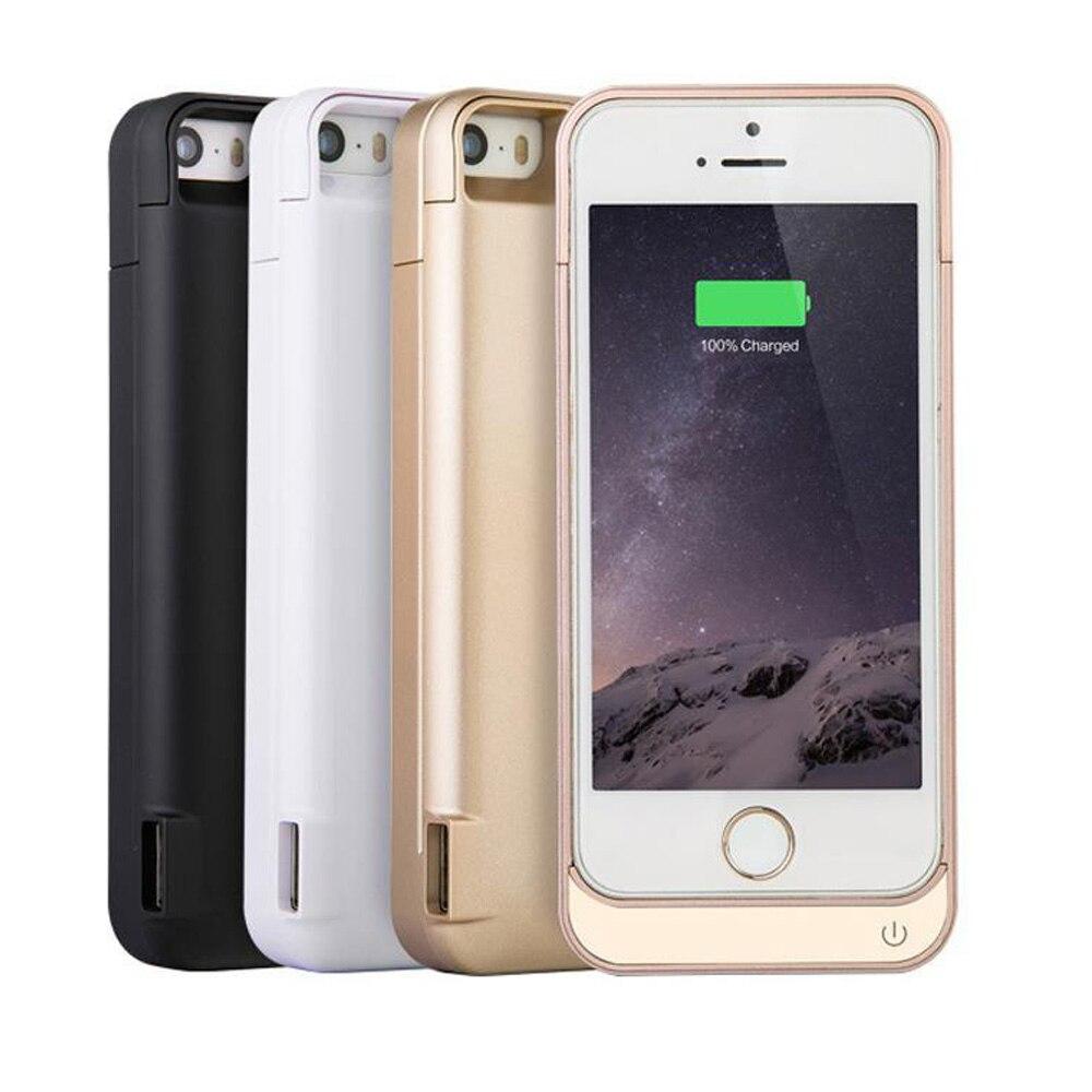 imágenes para 4200 mAh Portátil Banco de la Energía Del Cargador de Batería de Reserva Externa Pack Casos de La Cubierta Para el iphone 5 5C 5S SÍ Batería de carga caso