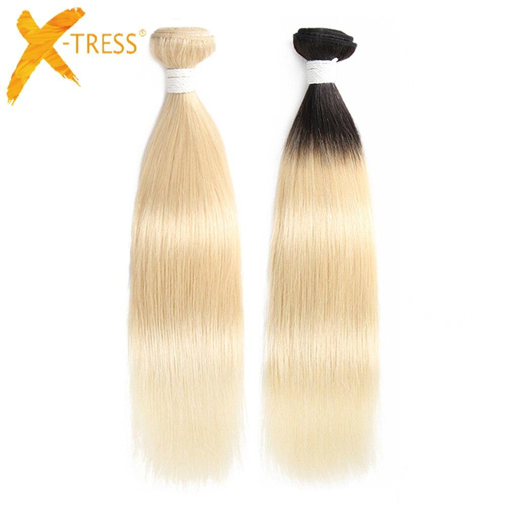 Haarverlängerungen Haarverlängerung Und Perücken Honig Blonde Bundles Farbige 27 Gerade Menschliche Haarwebart Bundles Blonde Peruanische Haar Verlängerung Glänzende Stern Dicke Schuss Nonremy