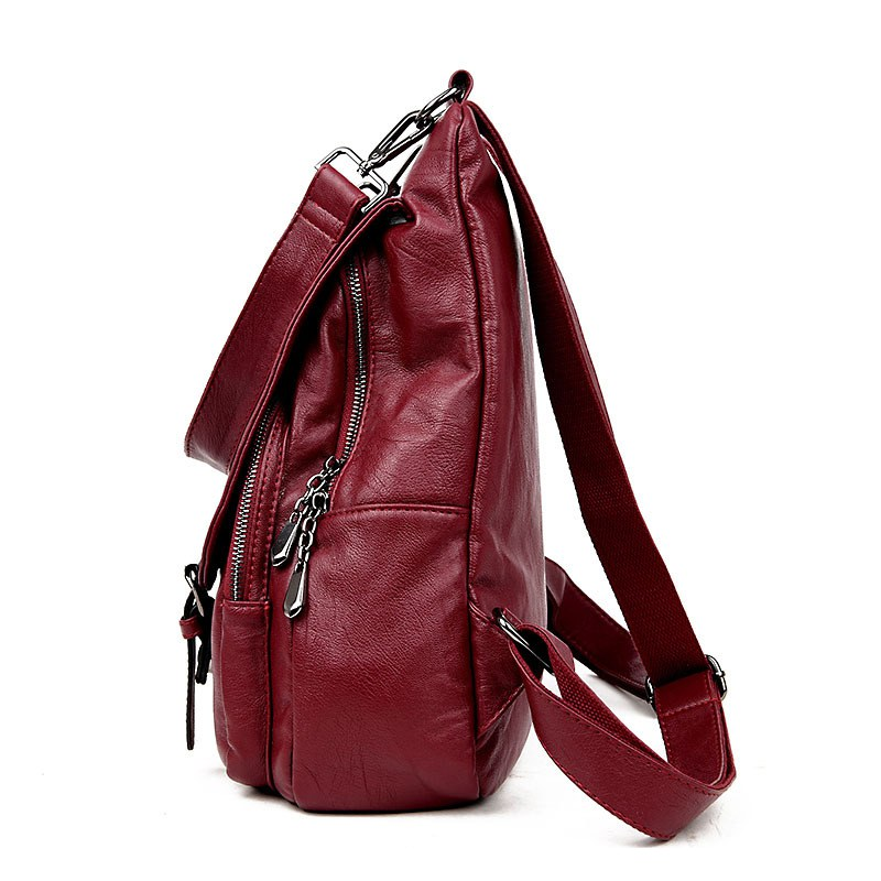 bolsa de mulheres da faculdade Material Principal : Couro Genuíno