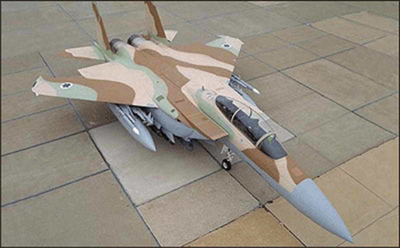 US $15 79 21% OFF|1:32 F 15I Eagle Fighter Israeli Air Force Aircraft Model  3D Paper Model Papercraft Cardboard House for Children Paper Toys-in Card