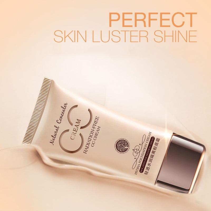 CC крем-консилер увлажняющий отбеливающий Жидкий тональный крем основа для лица Косметика для макияжа