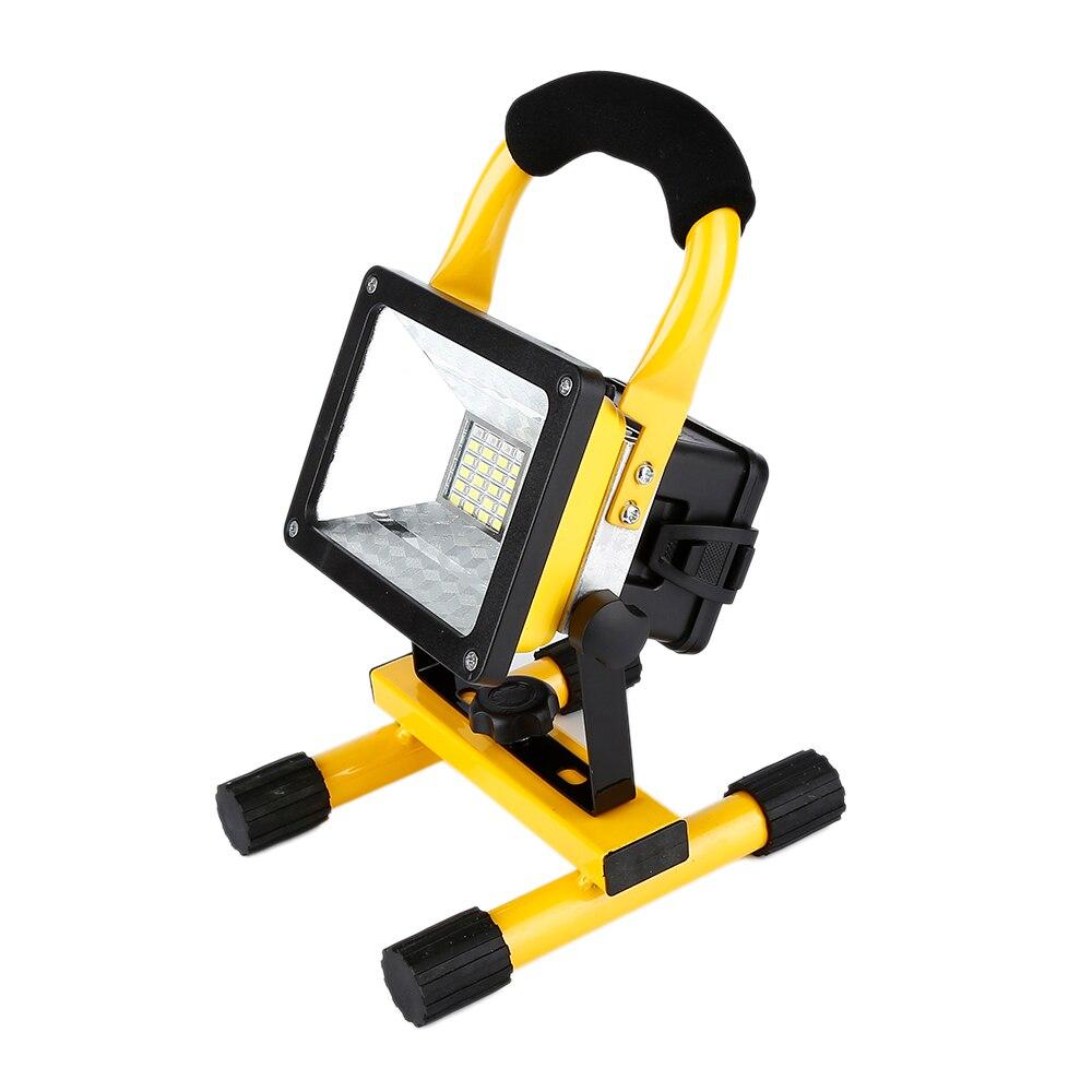 Waterproof 1000lm Rechargeable Flood <font><b>Light</b></font> Portable Outdoor Emergenency <font><b>Light</b></font> Garage Lamp Construction Site Spotlight