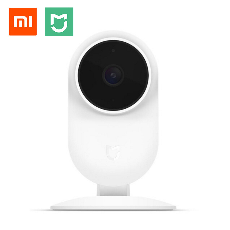 цена 2018 Original Xiaomi Mijia Smart IP Camera 1080P 2.4G Wifi Wireless 130 Wide Angle 10m Night Vision Hierarchical Detection