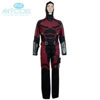 Фильм Сорвиголова костюм Косплэй Marvel Comics высокое качество наряд равномерное супергероя наряд Косплэй костюм полный комплект
