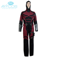 Movie Daredevil Costume Cosplay Marvel Comics High Quality Outfit Uniform Superhero Outfit Cosplay Costume Full set