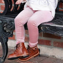 цена Skinny Toddler Kids Velvet Pants Baby Girls Leggings 2019 Spring Autumn Fashion Cool Children's Clothing Warm Trousers онлайн в 2017 году