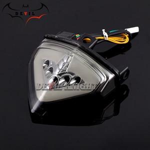 Image 2 - ホンダ CB1000R 2008 2013 CBR600F LED ウインカーテールライトオートバイリアブレーキテールライト CB 1000R CB1000 R