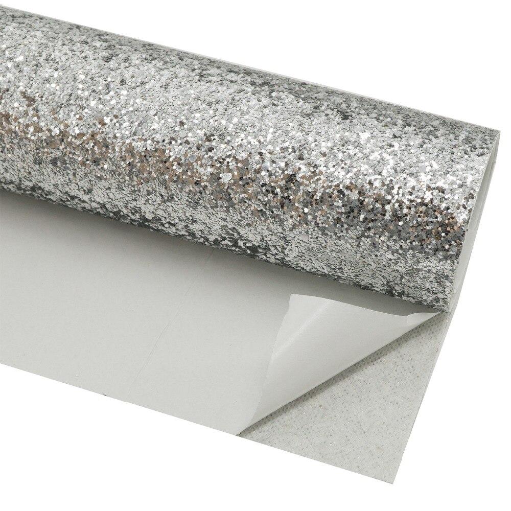 Self Adhesive Chunky Glitter Wallpaper Peel And Sticker Craft Decor