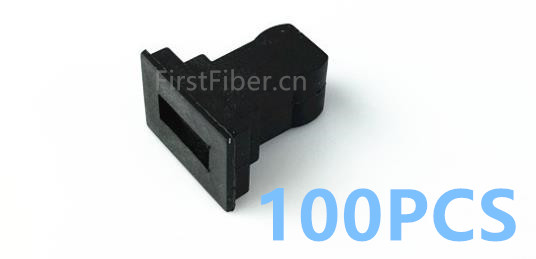 FirstFiber 100pcs SC/UPC SC/APC Dust Caps Simplex Duplex Dust Plug  Fiber Optic Adapter Dust Caps, Fiber  Connector Dust Caps