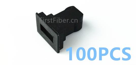 FirstFiber 100pcs SC/UPC SC/APC Dust Caps Simplex Duplex Dust Plug  Fiber Optic Adapter Dust Caps, Fiber  Connector Dust Caps