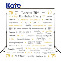 Kate Baby Photography Fabric White Crown Newborn Birthday Photography Backdrops Custom Party Photographic Backgrounds