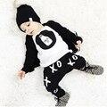 Autumn 2016 2pcs Newborn Infant Baby Boys Clothes Kid T-shirt Tops + Pants Girls Outfits Sets 0-24M Children's Clothing Set