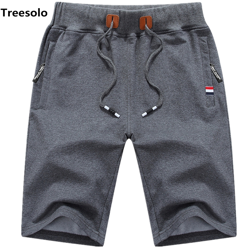 Cotton Shorts Men Summer Beach Short Male Casual Shorts Mens Solid boardshorts High Quality Elastic Fashion Short men S-5XL 1012(China)