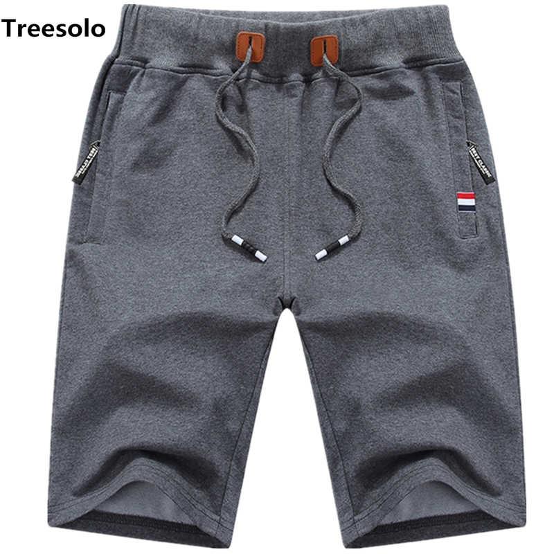 257543ff6a Cotton Shorts Men Summer Beach Short Male Casual Shorts Mens Solid  boardshorts High Quality Elastic Fashion