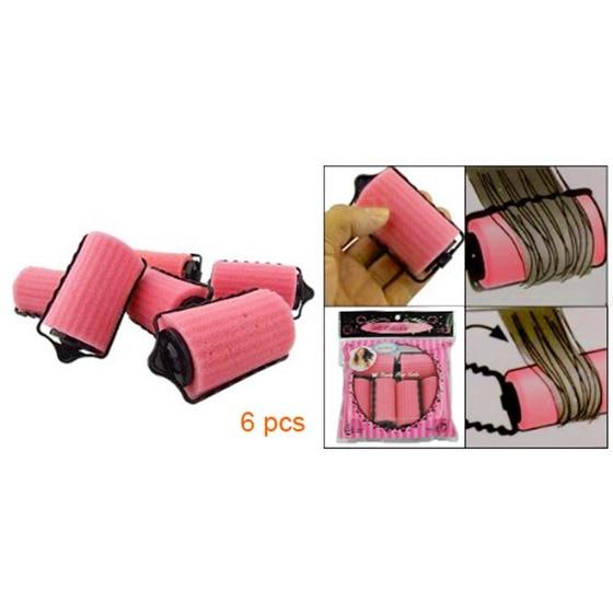 6PCS/Set Magic Sponge Pillow Soft Roller Hair Best Flexible Foam and Sponge Hair Curlers DIY Styling Tool For Women