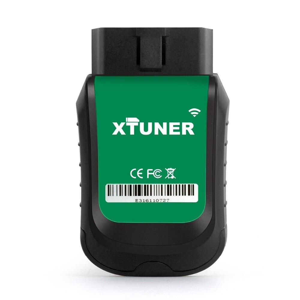 Véritable XTUNER E3 Wifi système complet outil de Diagnostic de voiture support de Scanner automobile SRS, EPB, ESP, ESS pour les voitures d'amérique, d'europe et d'asie - 3