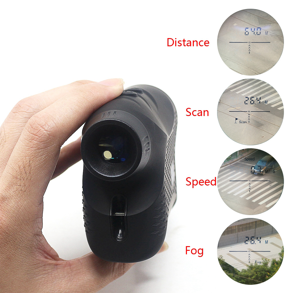 1200M 6x25 Digital Telescope Laser Ranger Finder Hunting Distance Measure Meter Handheld Golf Distance Sensor Laser Rangefinder|Rangefinders|Sports & Entertainment - title=