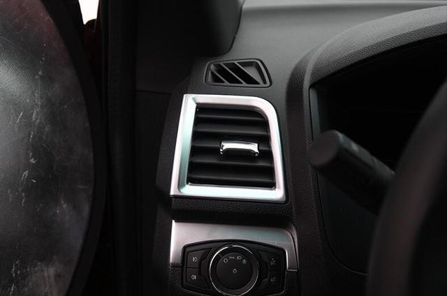 Interior Dashboard Upper U0026 Side Air Vent Outlet Cover Trim 4pcs For Ford  Explorer 2016 2017