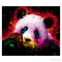 DIY Diamond Mosaic panda Picture Of Rhinestones Embroidery Animals Painting Cross Stitch Wallpaper 5D