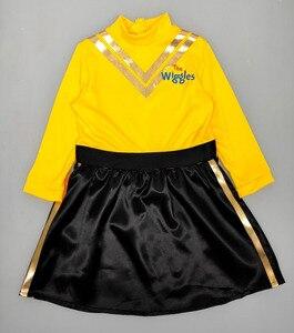 Image 5 - Kleid up als Emma von die Wiggles mit diesem fabulous gelb und schwarz outfit prinzessin kostüm Gelb Ballett Tutu kleid
