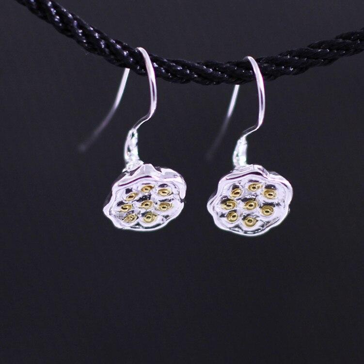 ᐊs925 Sterling Perhiasan Perak Grosir Perak Bauhinia Anting Model
