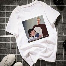 WVIOCE New Summer Fashion Women T Shirt Harajuku Short Sleeve Funny Graphic Printed T-Shirt Cute Ladies Tshirt Cartoon Tops Tee цена