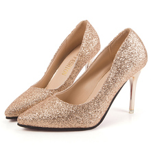 Classic fashion sexy red bottom brand women shoes pumps ladies gold high heels wedding shoes silver women valentines party shoes