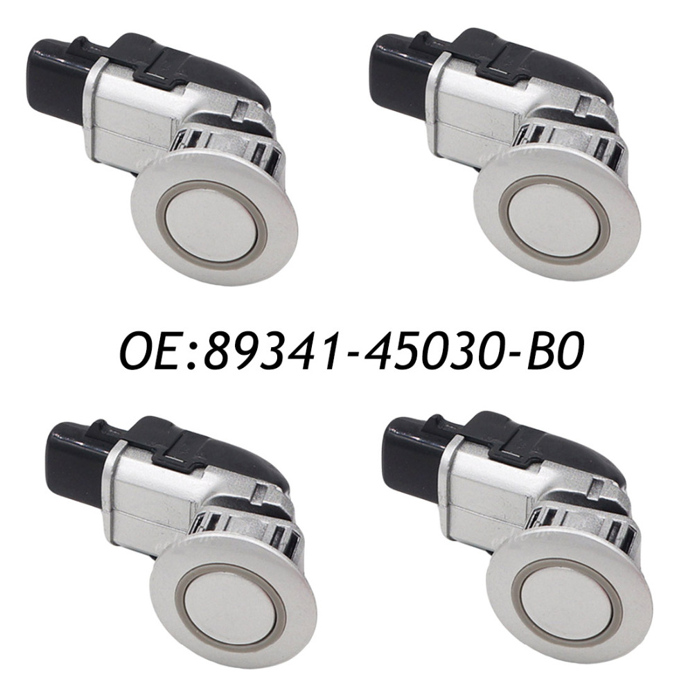 New 4pcs pdc parking distance control sensors for toyota for Mercedes benz b0 service