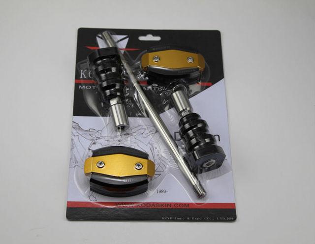 KODASKIN cuerpo Deslizante De Aluminio CNC Motorcycle Frame Sliders Crash Protector Protección Falling Para Hypermotard796 820 939 1100