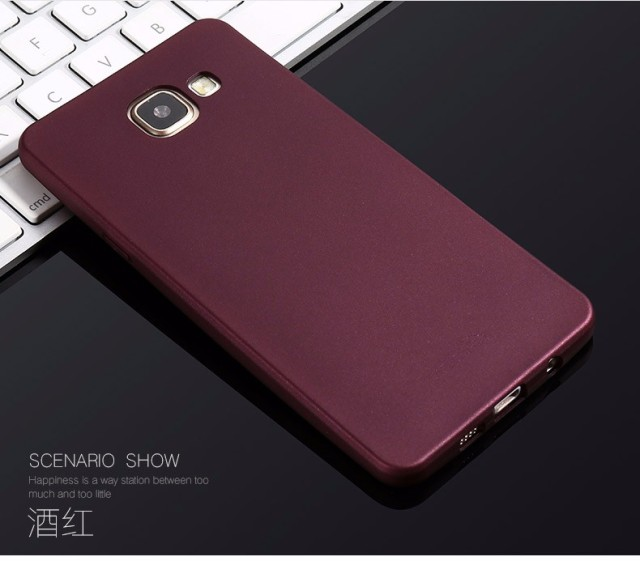online store c3485 bd5ef US $6.19 15% OFF|X Level Guardian Soft Matte TPU Case for Samsung Galaxy A7  2016 A710 Scrub Back Cover for Samsung A7 6/A710F/A710M Silicone Case on ...