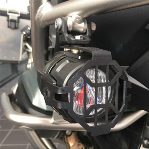 Image 4 - FADUIES E9 2Pcs LED Auxiliary Spot Driving Light + 2Psc Protective Guard + 1Psc Switch Wiring For BMW Motorcycle R1200GS F800GS