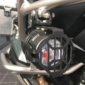 Image 4 - FADUIES Foco de luz de conducción LED auxiliar E9, 2 uds., protector 2Psc + cableado de interruptor 1Psc para motocicleta BMW R1200GS F800GS
