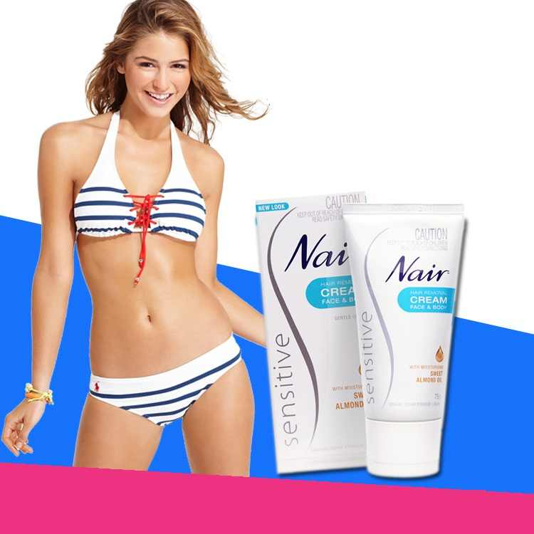 Original Australia Nair Sensitive Hair Removal Cream For Hair