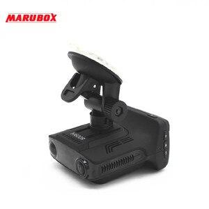 Image 4 - Marubox M600R جهاز تسجيل فيديو رقمي للسيارات رادار كاشف لتحديد المواقع 3 في 1 HD1296P 170 درجة زاوية اللغة الروسية مسجل فيديو مسجل شحن مجاني
